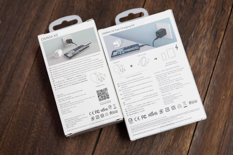 OMNIA X3 迷你快充頭開箱,超高功率 30W、價格超便宜1