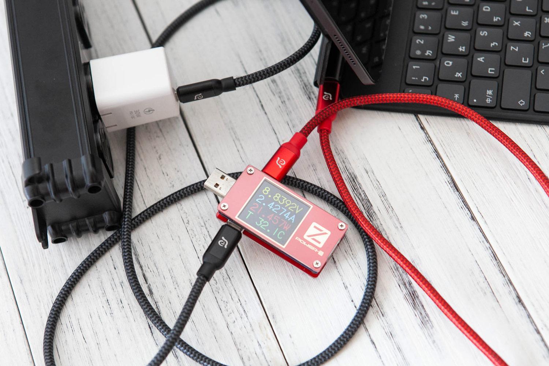OMNIA X3 充電效率測試5