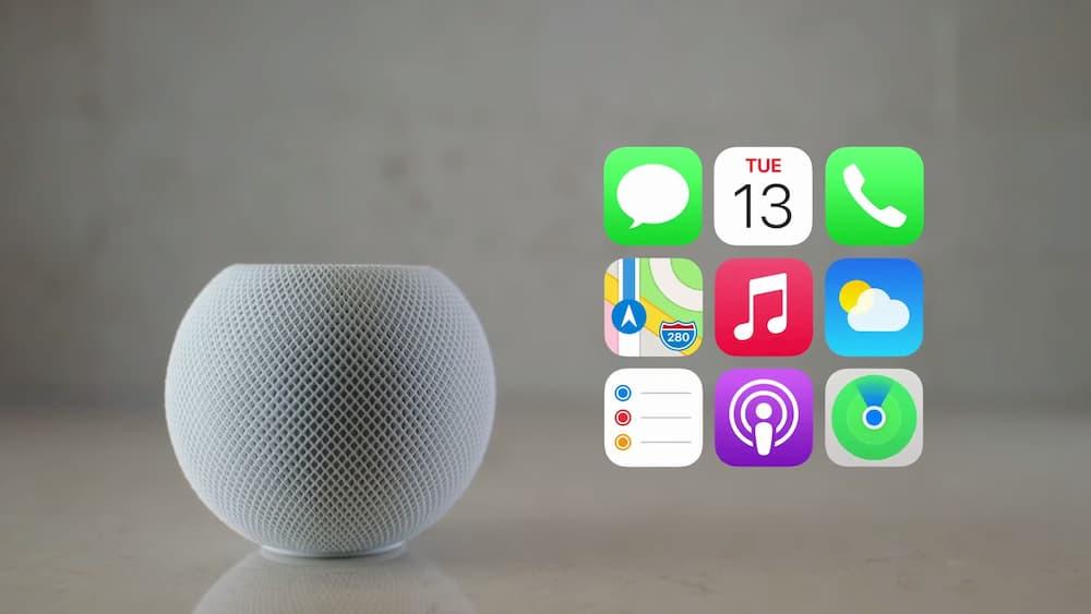 HomePod Mini 功能與服務Siri