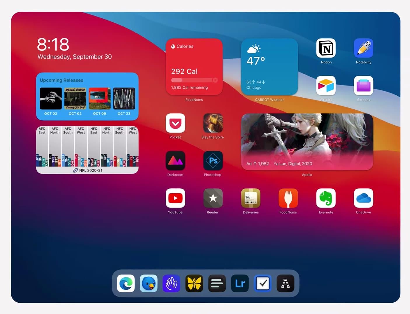 iPadOS 桌面小工具為何不能隨意擺放?也許是這些原因1