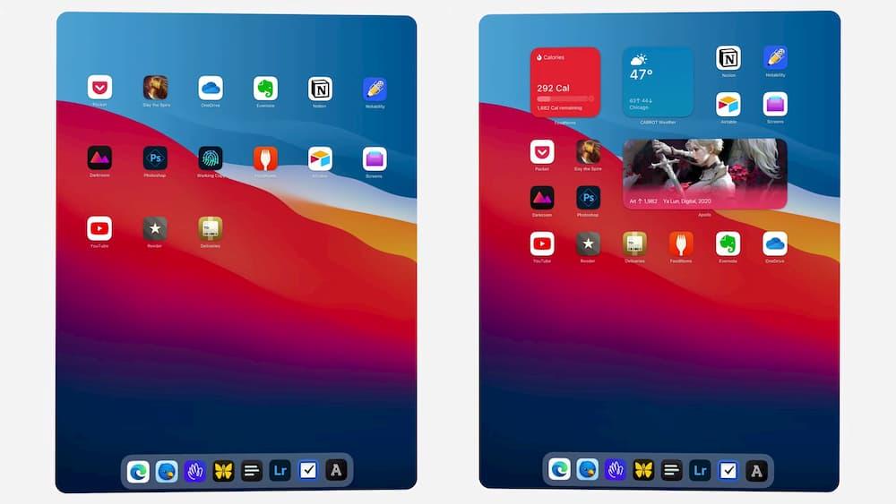 iPadOS 桌面小工具為何不能隨意擺放?也許是這些原因5