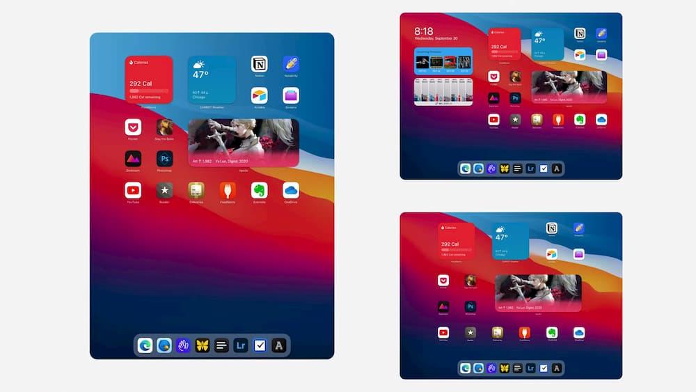iPadOS 桌面小工具為何不能隨意擺放?也許是這些原因6
