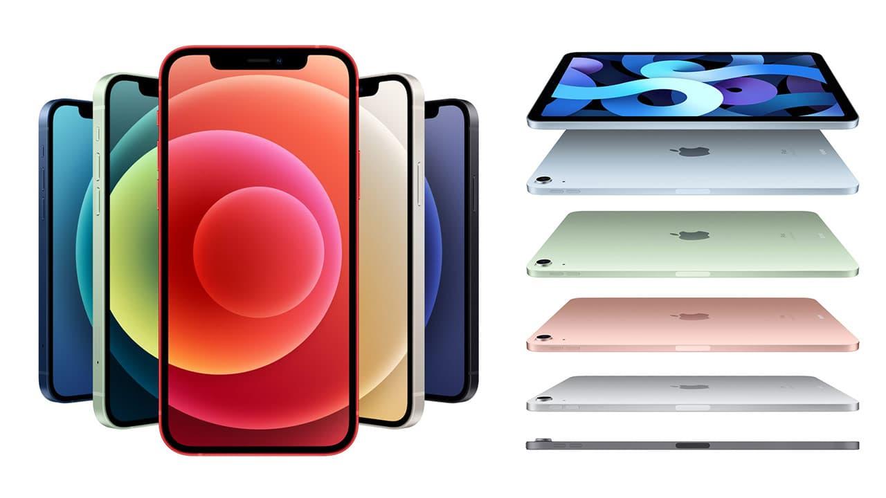 iPhone12與iPad Air4代顏色