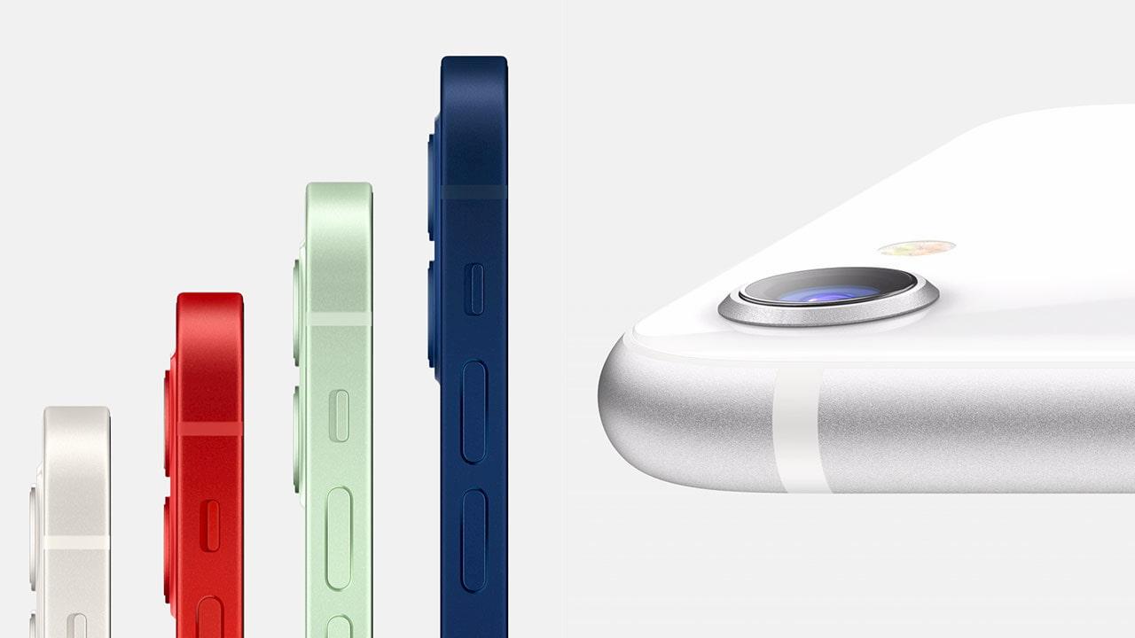 iPhone 12 mini 與 iPhone SE (2代):外觀、顏色差異比較1