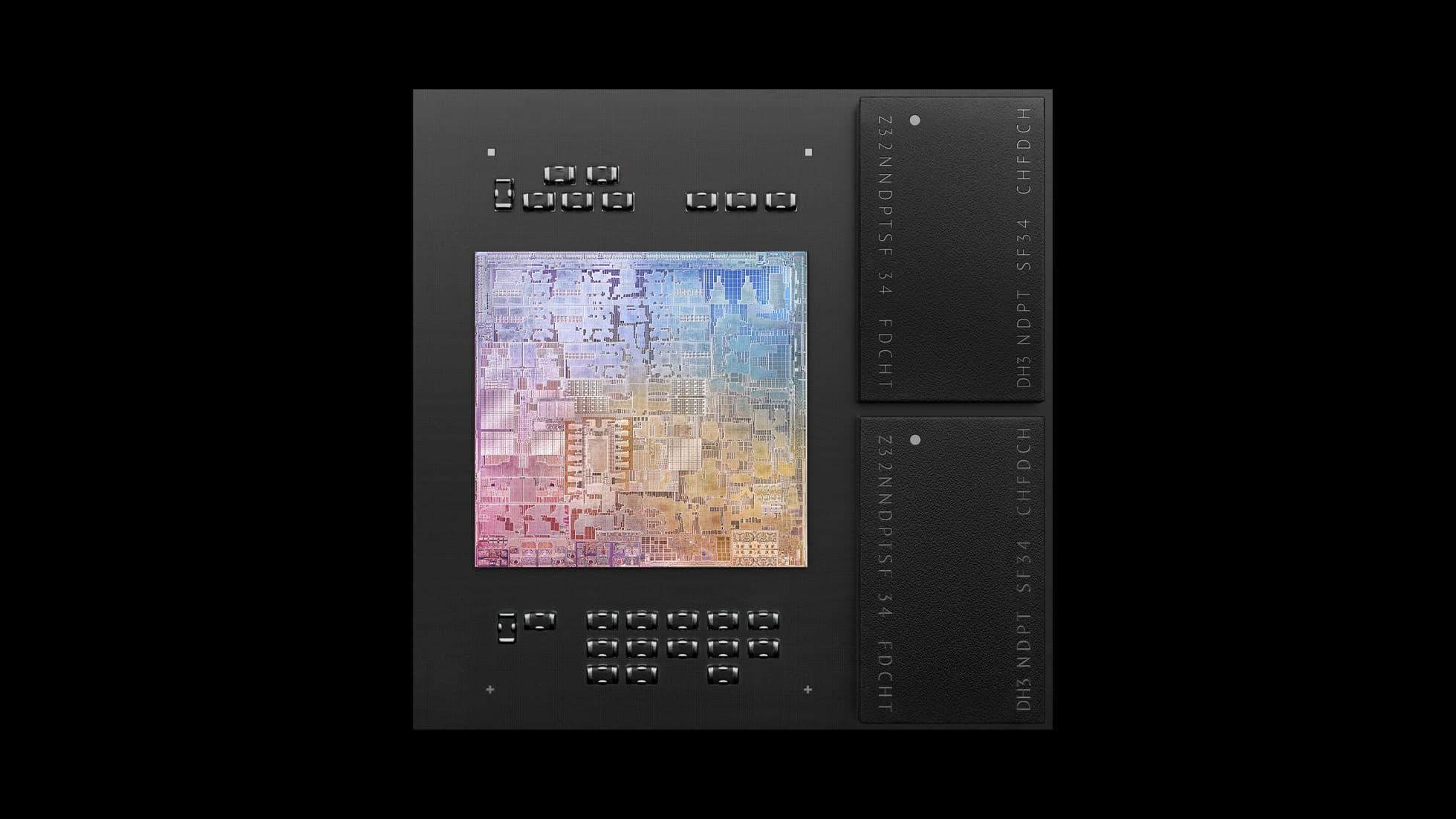 新款搭載10核心晶片,效能比M1晶片更快