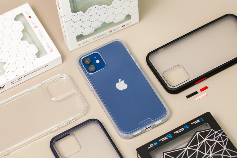 Hoda 柔石、晶石 iPhone 12 手機殼開箱,藍色款救星降臨