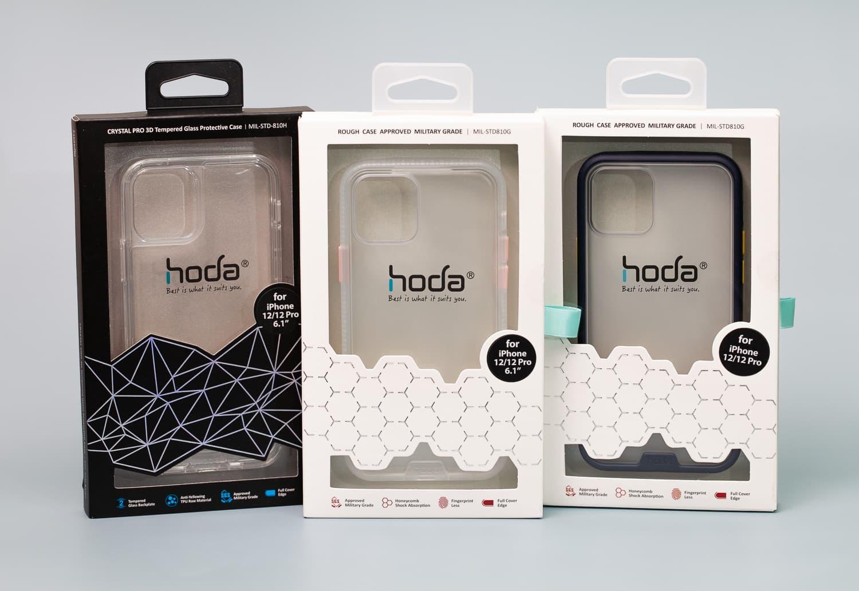 Hoda 柔石、晶石 iPhone 12 手機殼開箱,藍色款救星降臨1