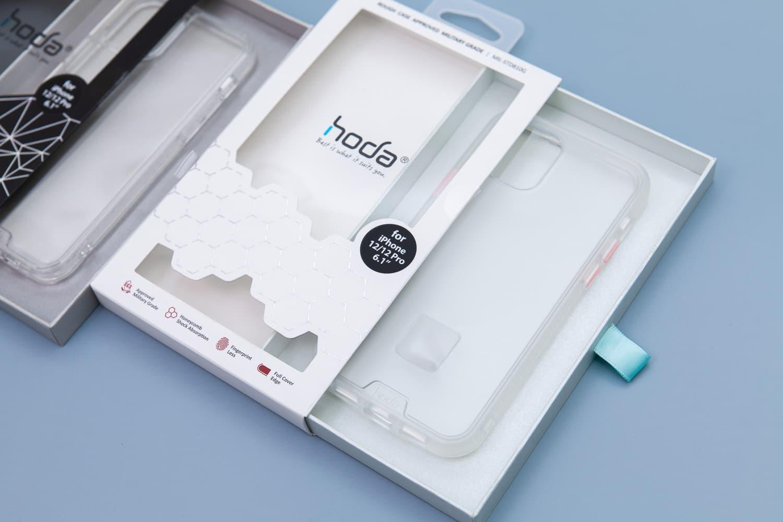 Hoda 柔石、晶石 iPhone 12 手機殼開箱,藍色款救星降臨2