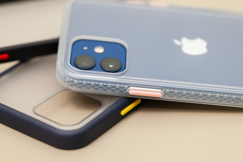 Hoda 柔石、晶石 iPhone 12 手機殼開箱,藍色款救星降臨8