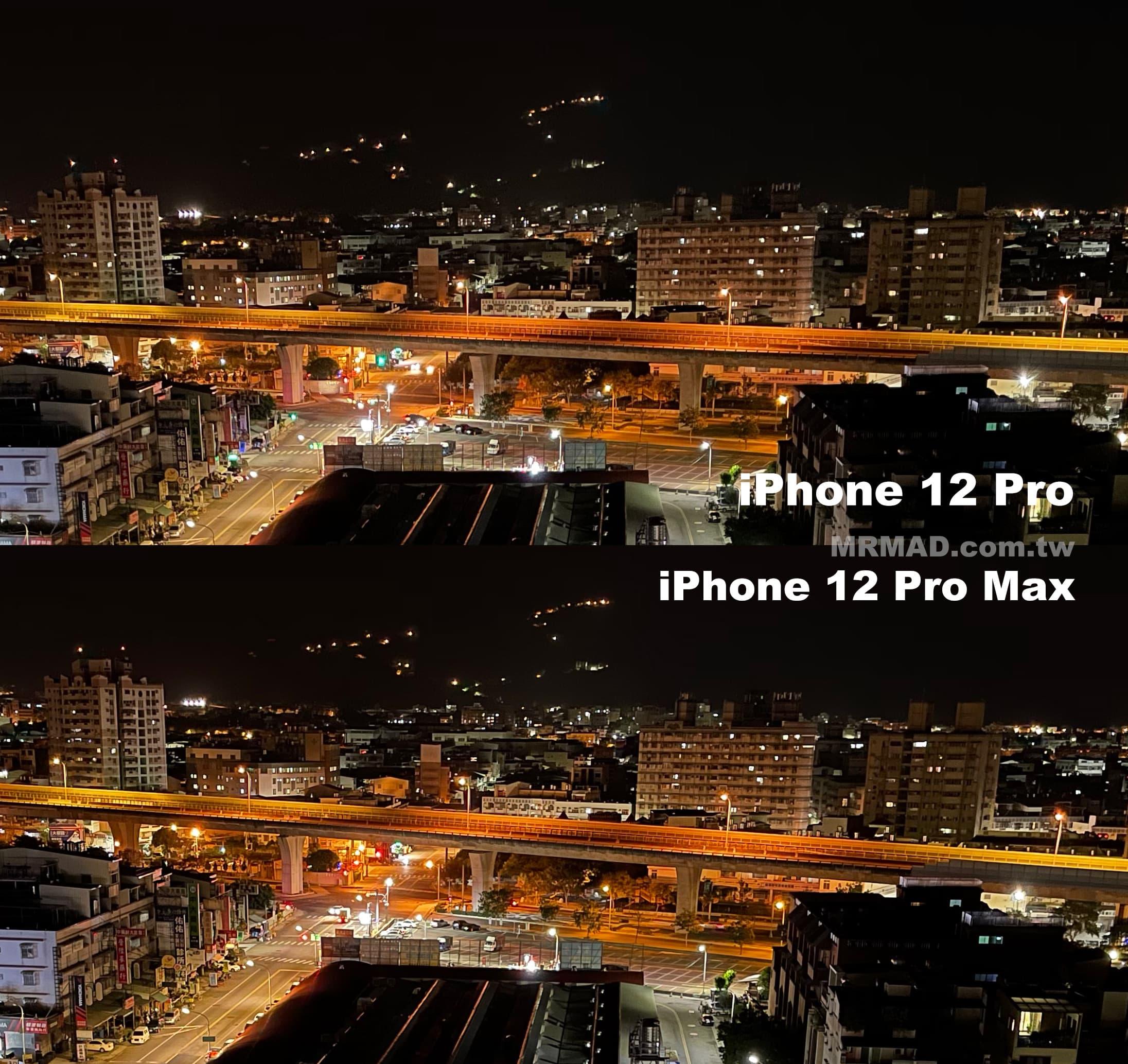 iPhone 12 Pro Max 夜拍廣角
