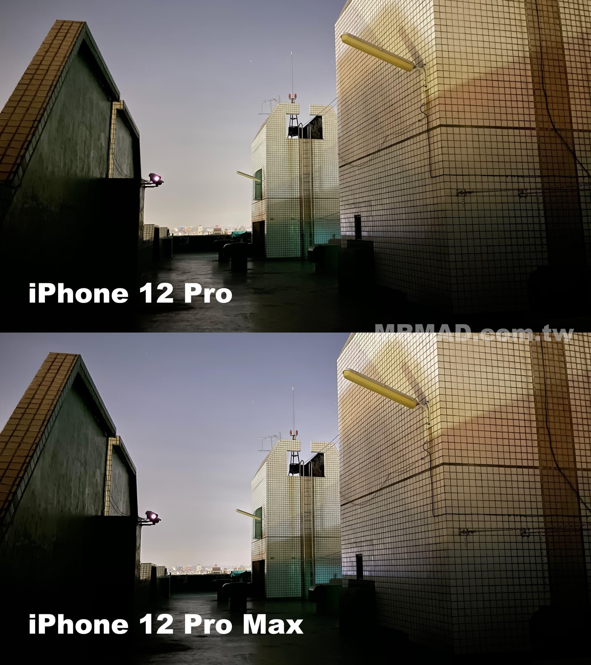 iPhone 12 Pro Max 夜拍廣角1