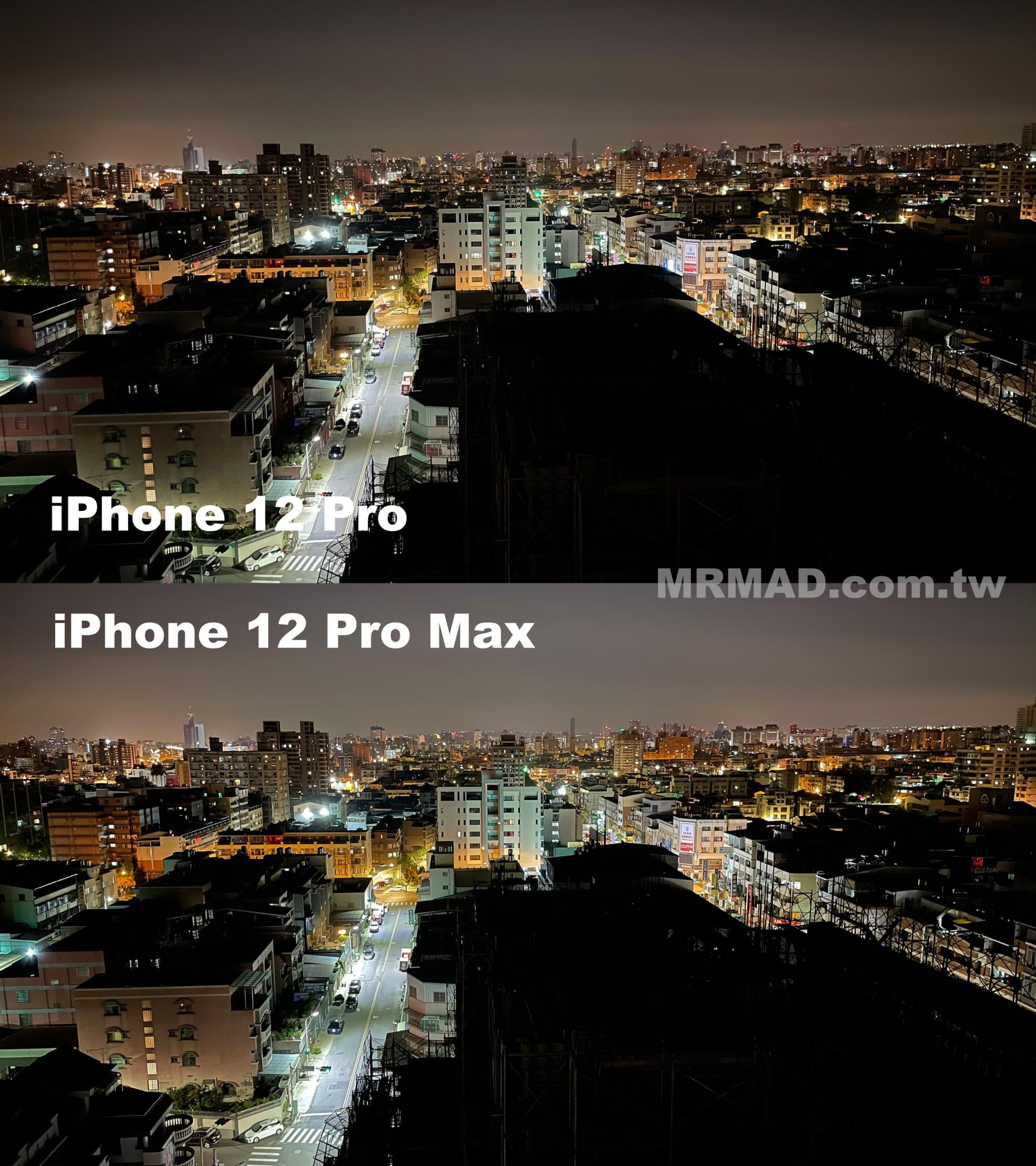 iPhone 12 Pro Max 夜拍廣角3
