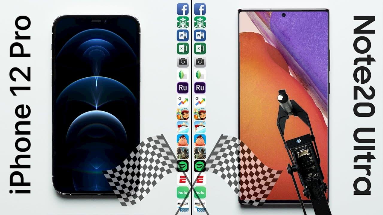 機王對決 iPhone 12 Pro vs. 三星 Note 20 Ultra 誰會贏?