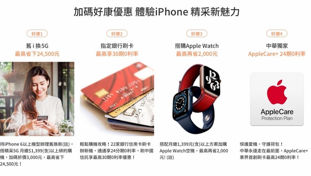 iPhone 12 mini 和 12 Pro Max 五大電信資費方案1
