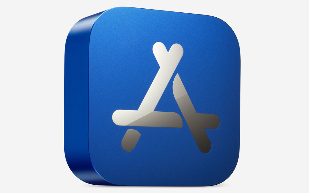 App Store 2020 最佳獎座實體開箱,超像藍色 Mac mini 外觀