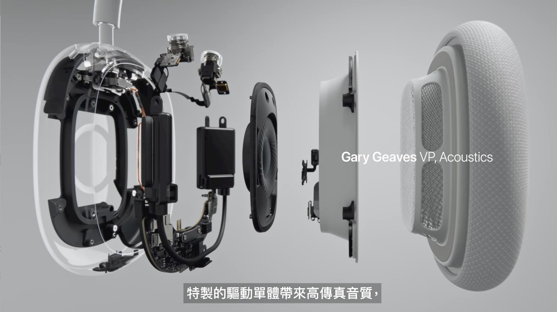 AirPods Max 技術1
