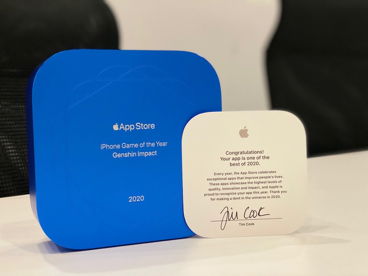 App Store 2020 最佳獎座實體開箱3