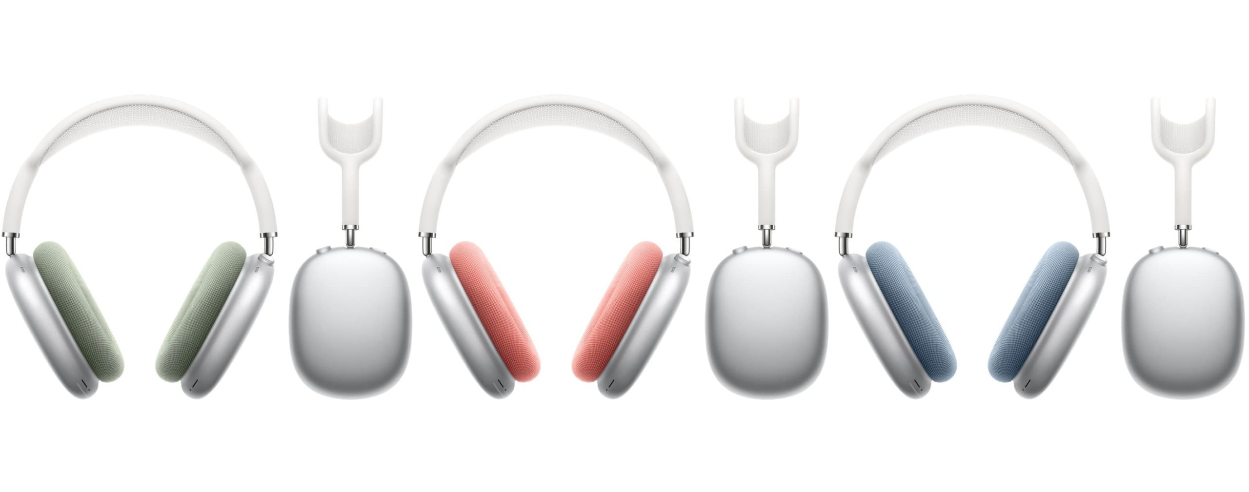 AirPods Max 銀色搭配2