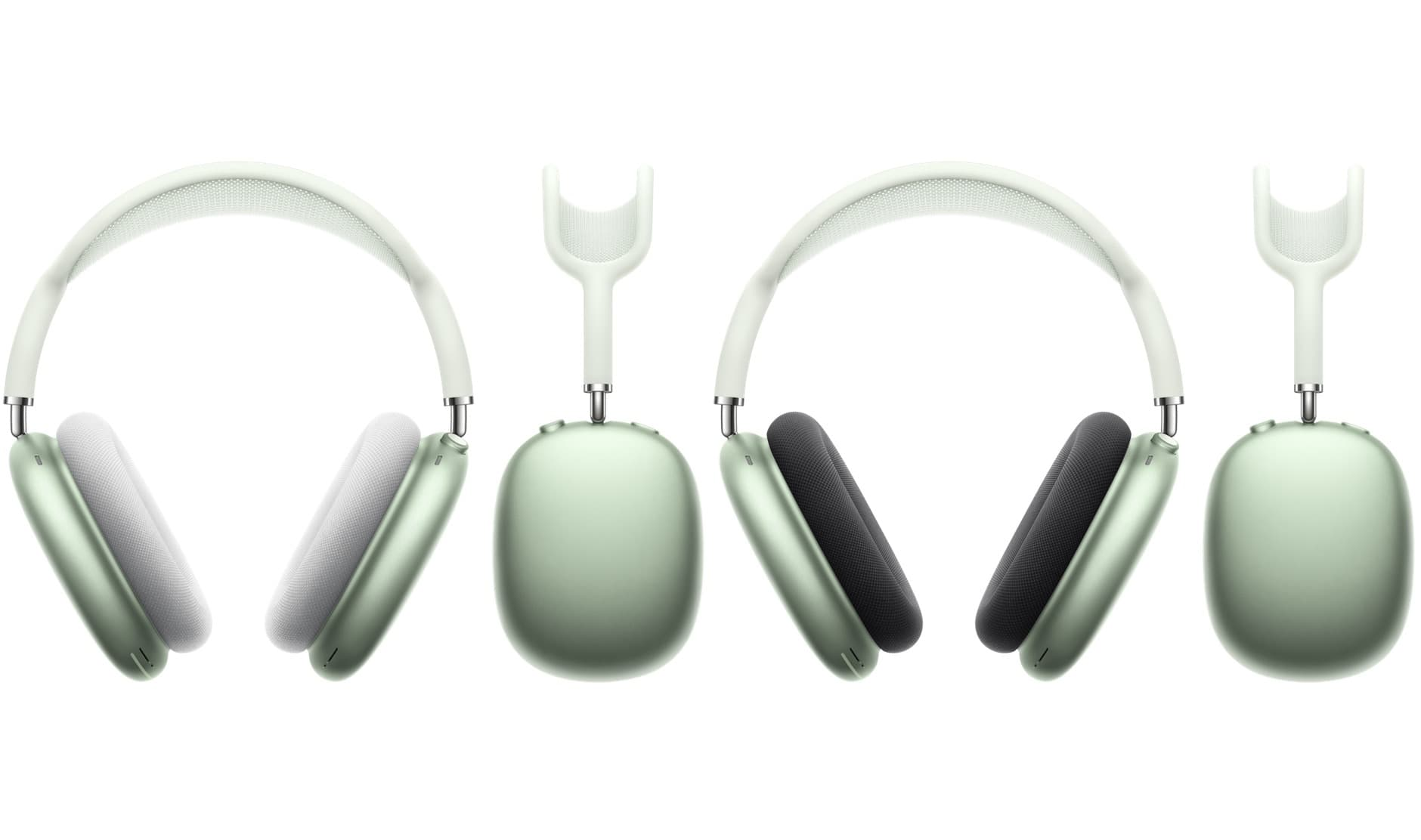AirPods Max 綠色搭配