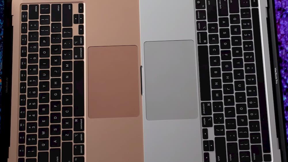 鍵盤與觸控板2