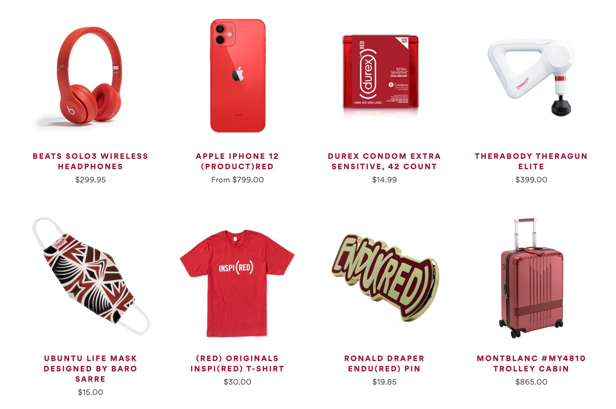 Product RED 是什麼