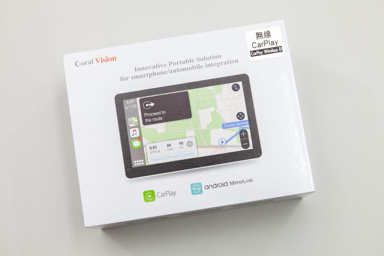 Coral CarPlay Wireless D:CarPlay車用主機無線版開箱