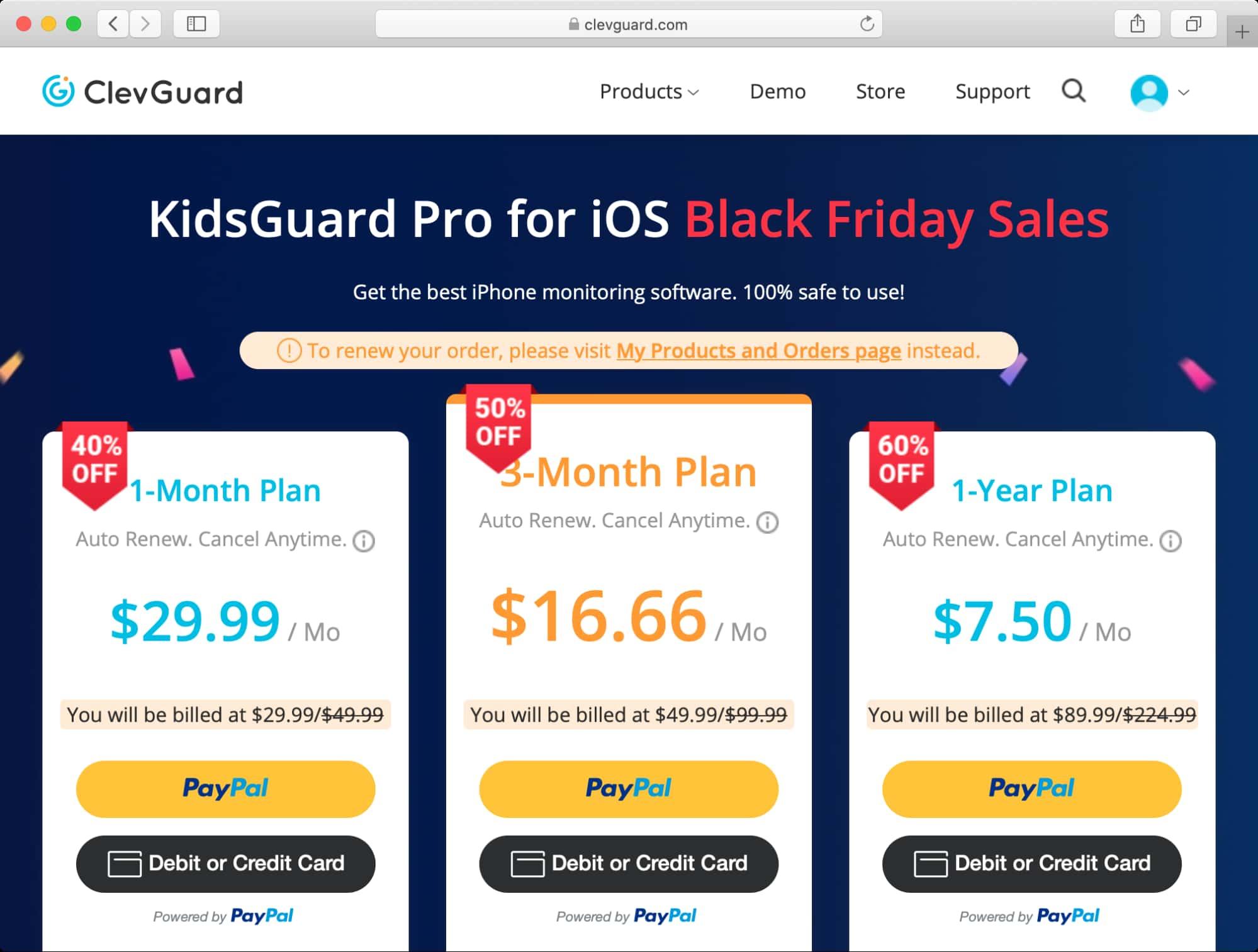 KidsGuard Pro for iOS 價格與優惠
