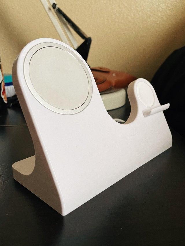 想自製低價蘋果MagSafe雙充電器?靠3D打印機就可以1