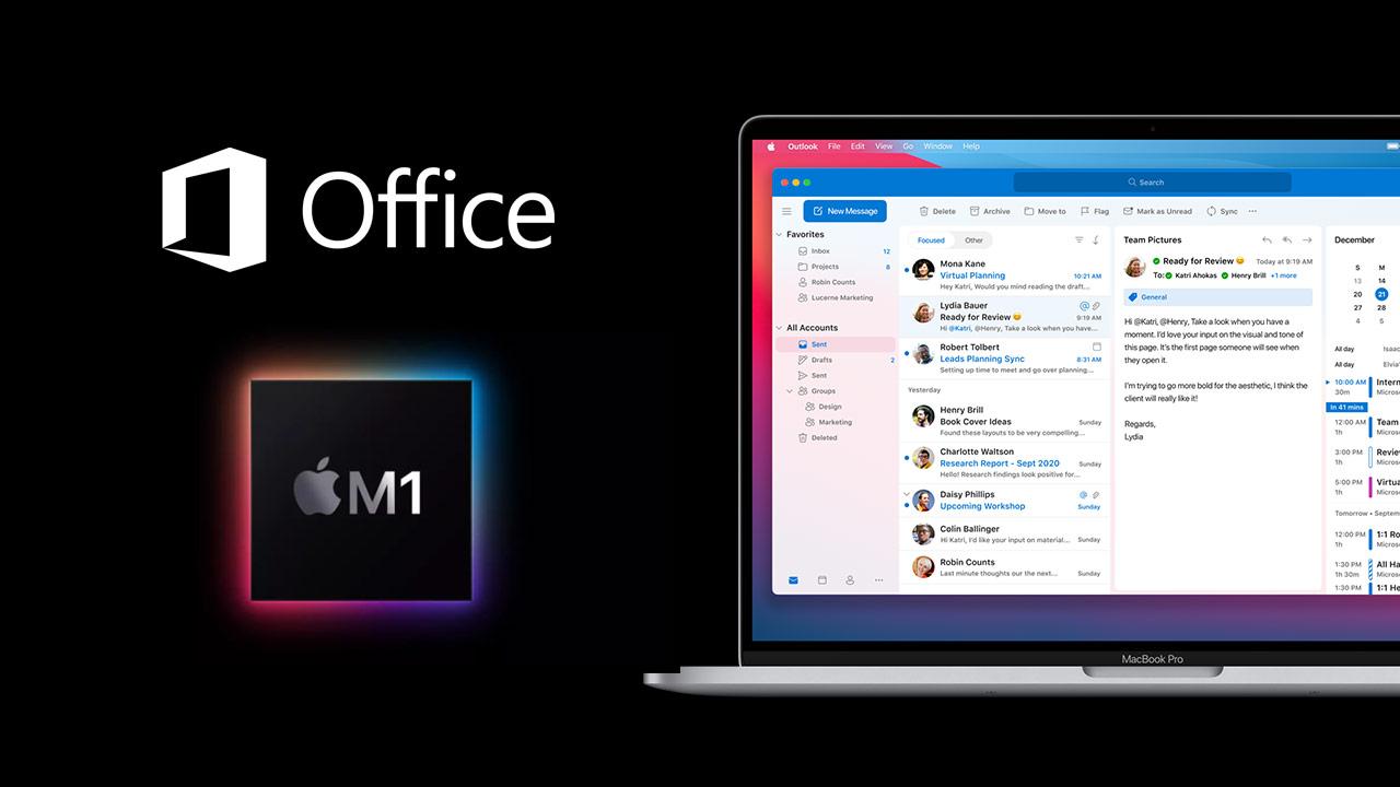 微軟宣布Office for Mac 正式支援 Apple M1 晶片Mac 電腦