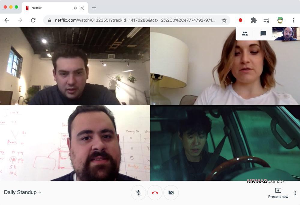 Netflix Hangouts 安裝與使用教學3