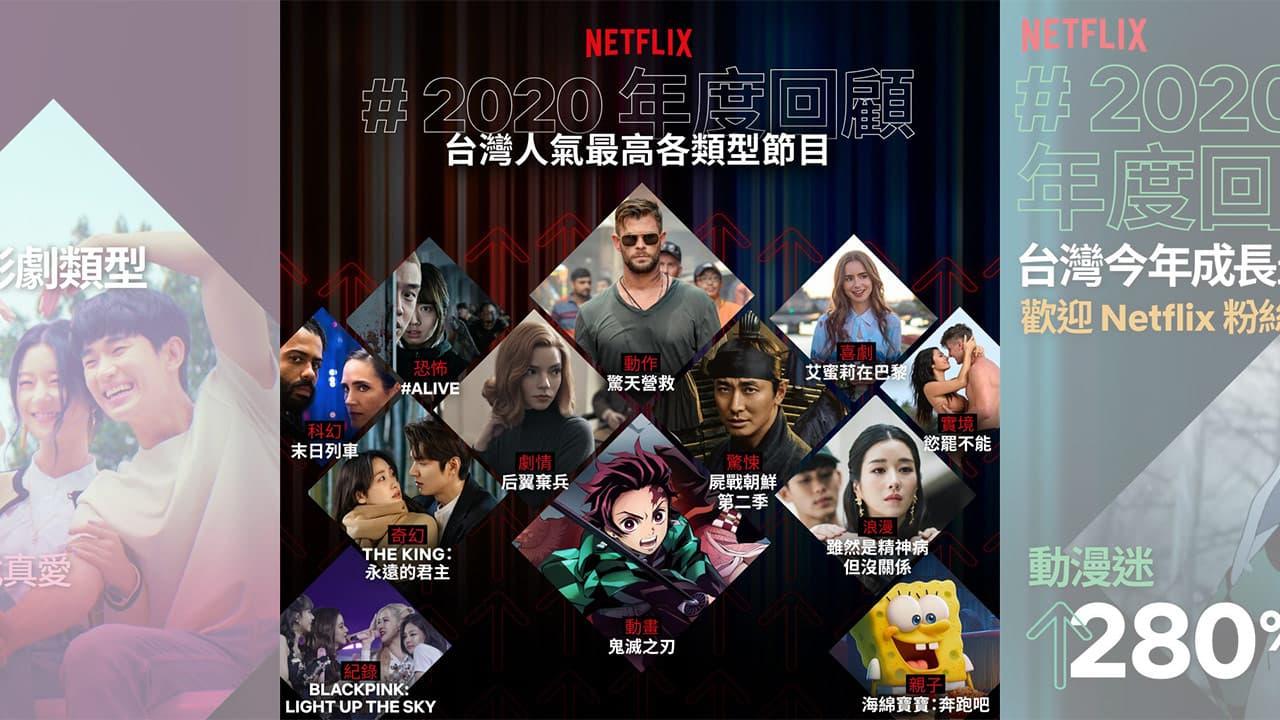 Netflix台灣排行榜2020 美劇、韓劇、電影榜單總整理