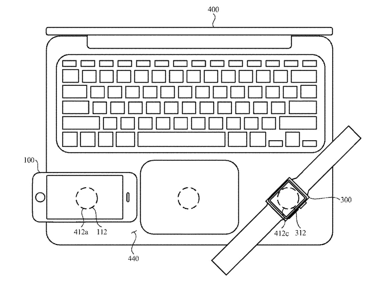 MacBook 支援無線充電:可替 iPhone、iPad 和 Apple Watch充電