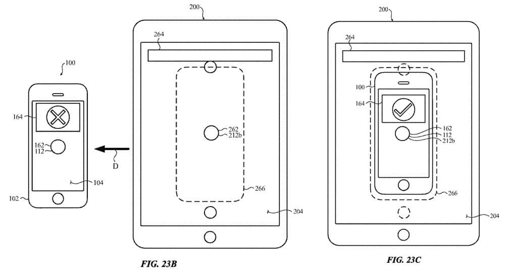 iPad 反向無線充電與 iPhone 交互設計1
