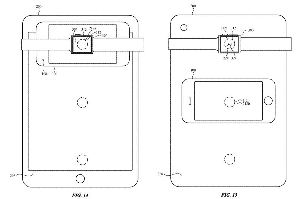 iPad 反向無線充電與 iPhone 交互設計2