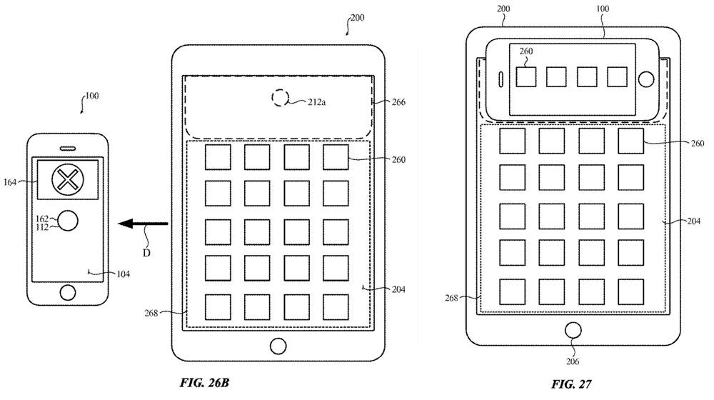 iPad 反向無線充電與 iPhone 交互設計3
