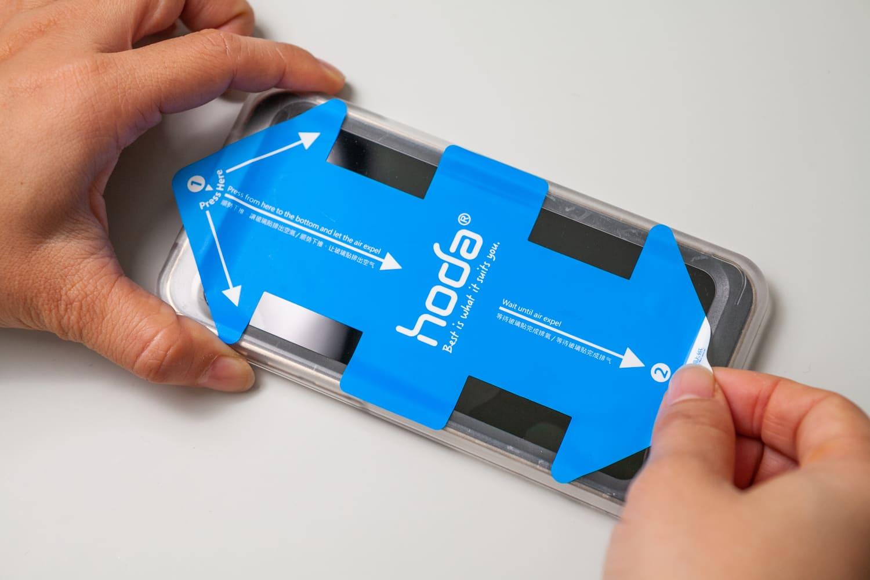 iPhone 12 hoda 藍寶石保護貼開箱14