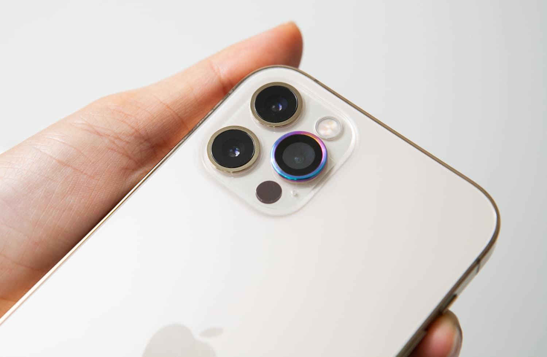 iPhone 12 hoda 藍寶石鏡頭貼開箱4