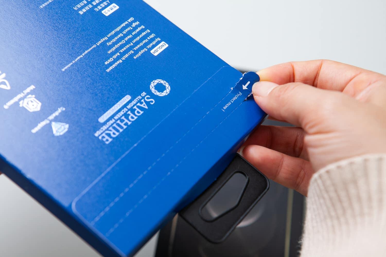 iPhone 12 hoda 藍寶石保護貼開箱6