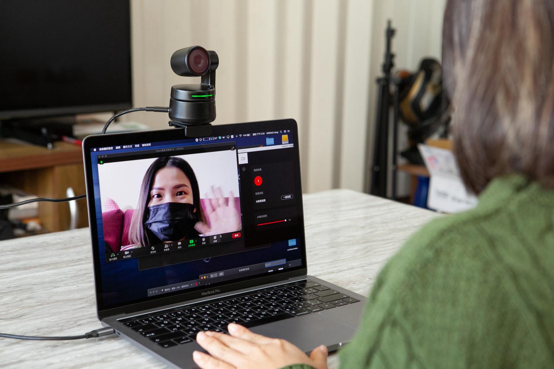 OBSBOT TINY 直播主和講師必備神器 AI自動跟蹤視訊鏡頭