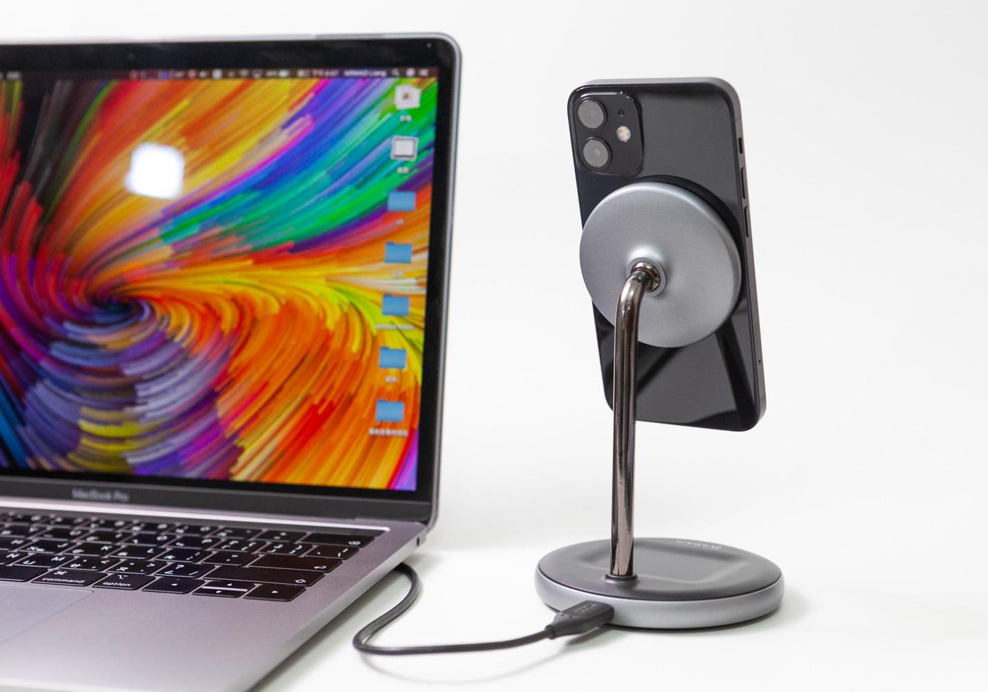 MagSafe 二合一無線充電座 OMNIA M2 開箱,iPhone 12用戶必入手
