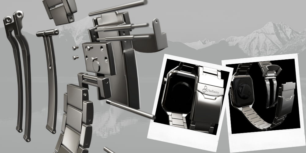 金屬質感錶帶:不鏽鋼與比較真的是金屬質感錶帶