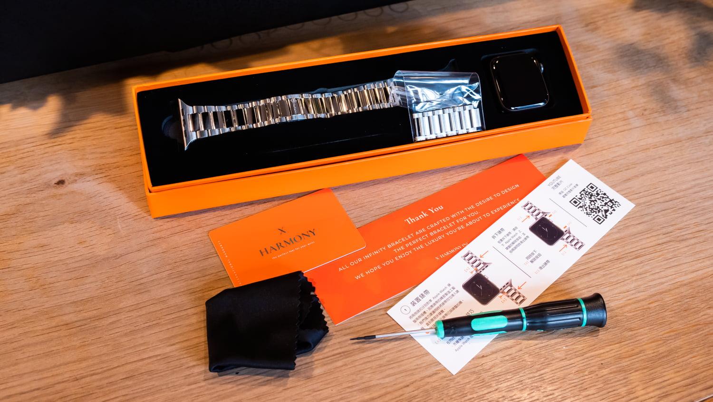 無限經典 Infinity Classic 不鏽鋼錶帶開箱2