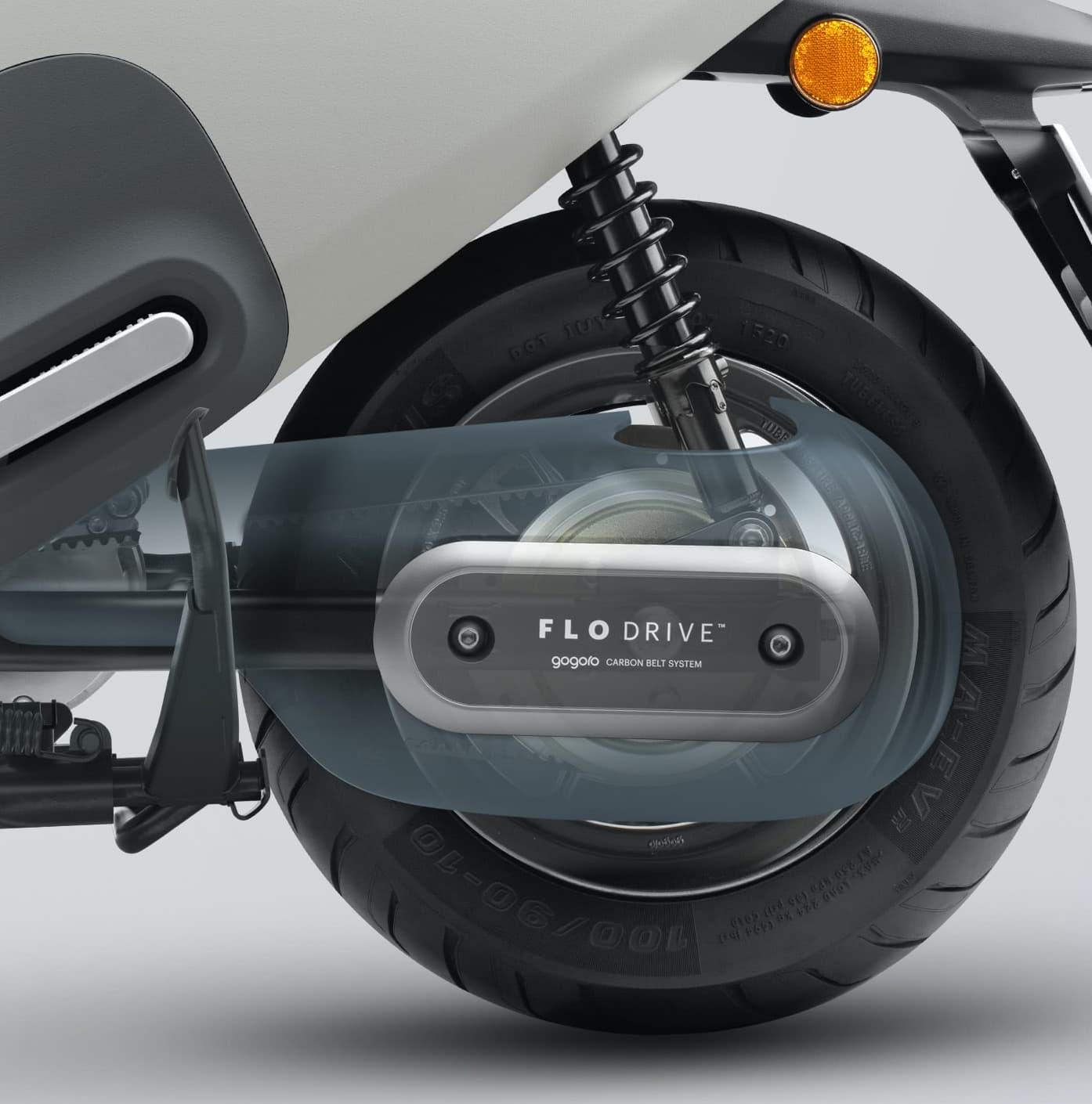 FLO DRIVE皮帶傳動系統、STYLO 行動沙發座