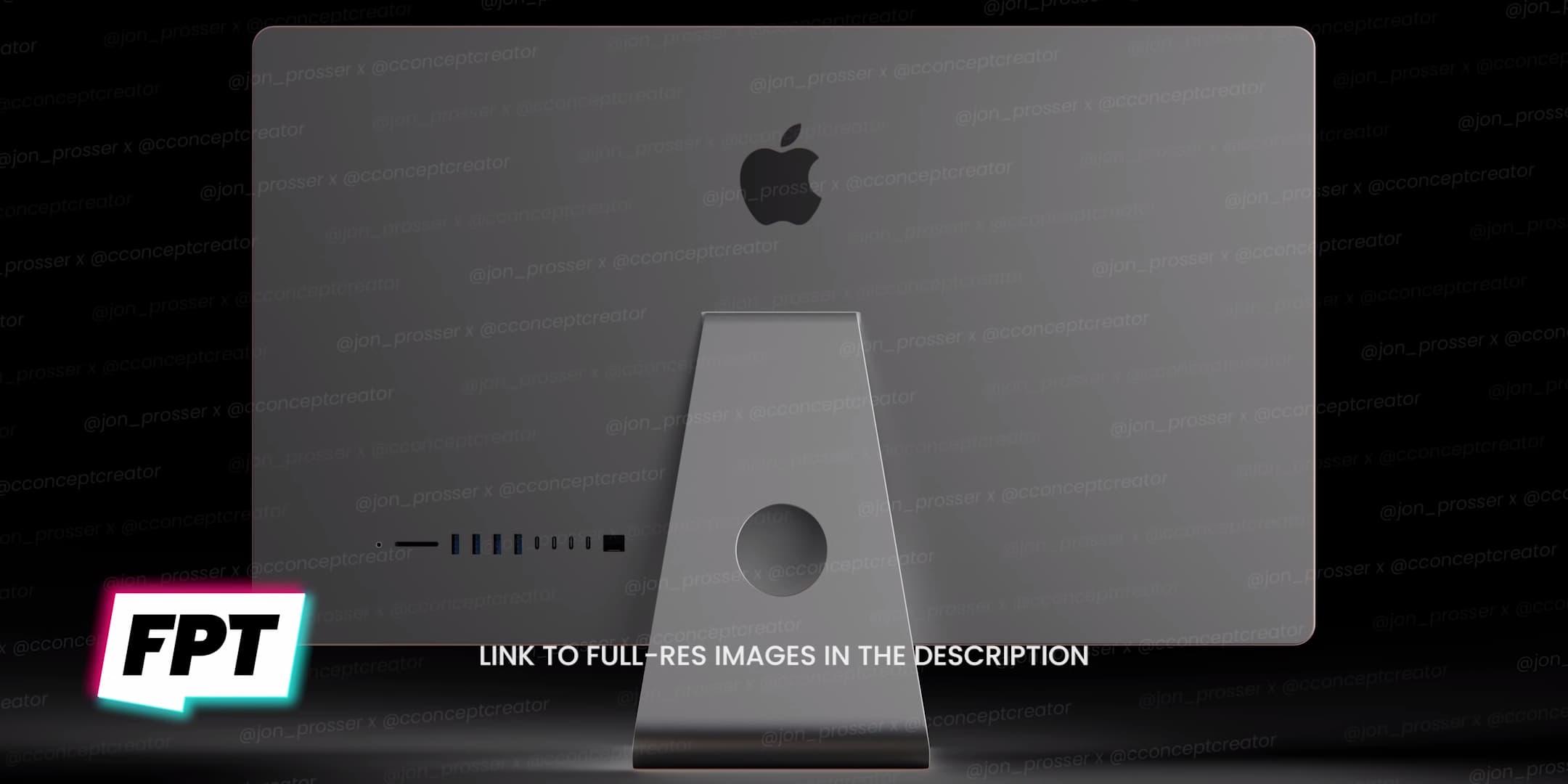 蘋果 2021 iMac 外觀首度曝光,有5種顏色類似 iPad Air