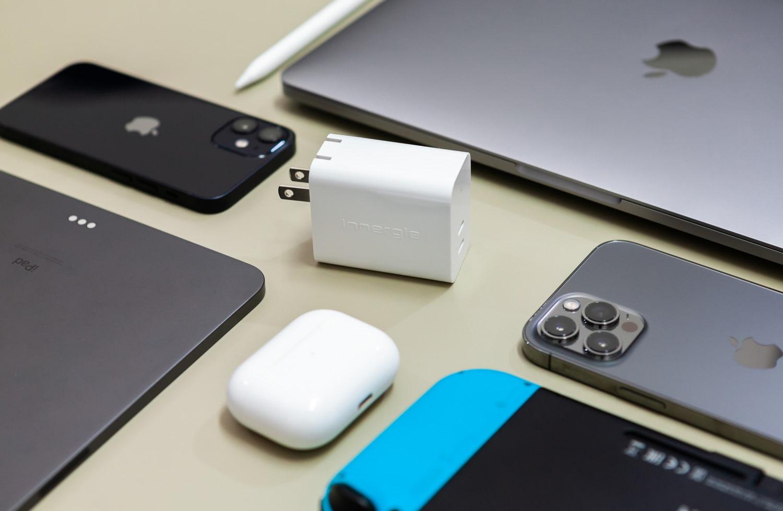[開箱] 台達電充電器 Innergie 63W USB-C 手機平板筆電皆可充
