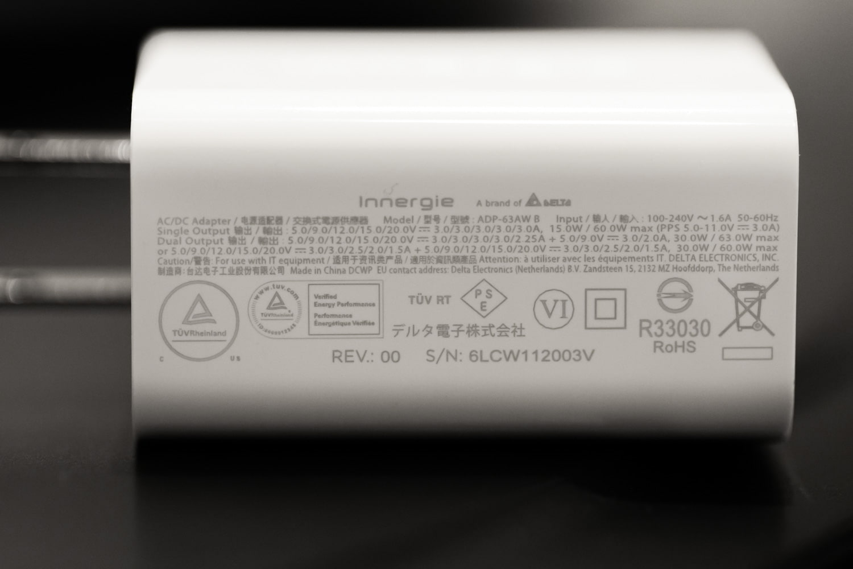 Innergie C6 Duo 充電效率實測