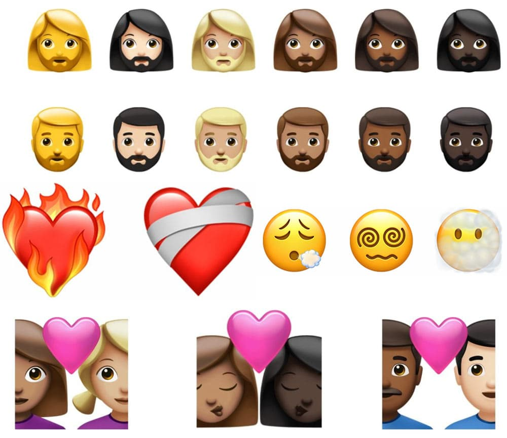 217種全新 Emoji 表情符號