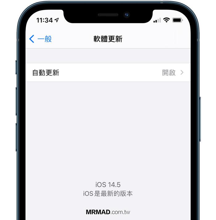 iOS 軟體更新文字調整
