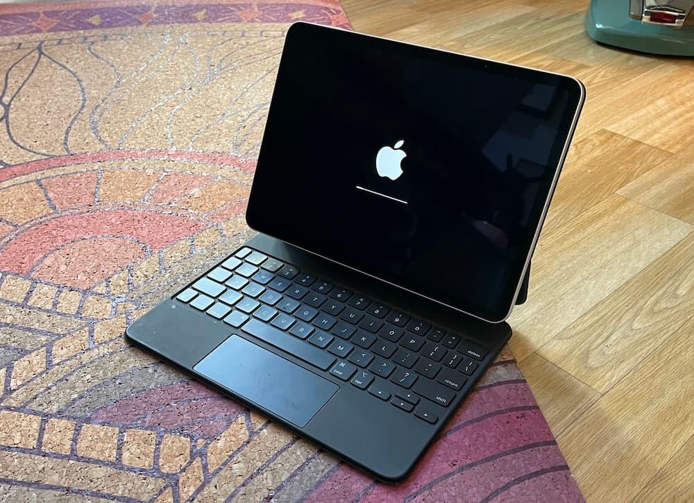 iPadOS 14.5 替iPad 開機改為橫放顯示