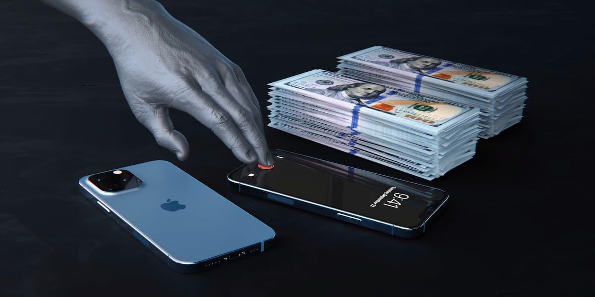 支援螢幕下指紋辨識